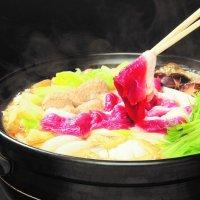 【名物】河内鴨のすき鍋